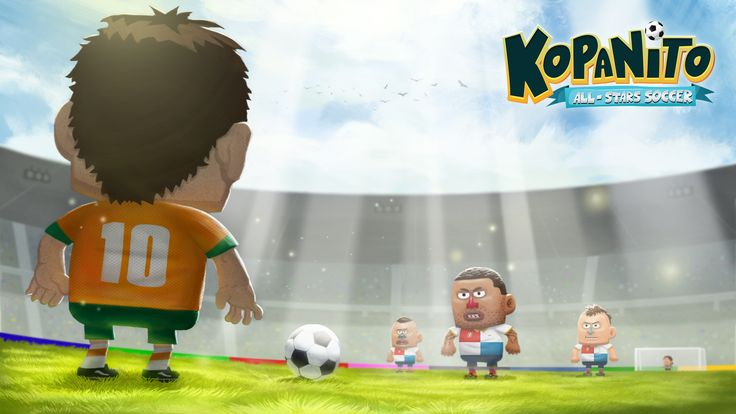 This moment when you're staying face to face with your opponent with ball between you... #kopanito #soccer #game #html5 #football