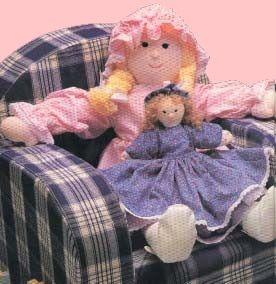Cartamodelli di bambole di stoffa gratis, Free cloth doll pattern,  Doll Project tutorials, easy cloth dolls patterns