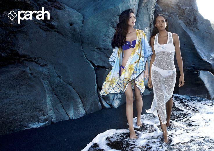 #Parah Spring Summer collection 2016 #beachwear #costumidabagno #beachfashion #beachstyle #bikini #modamare #fashion #ss16 #abito #copricostume