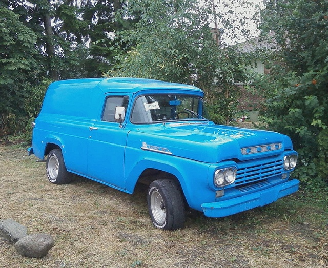 1959 Ford F-100 Panel Delivery Truck by Custom_Cab, Turn this into a bronco look a like with 4x4 lift