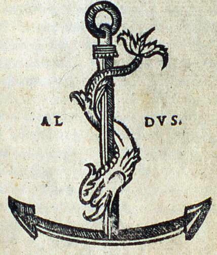 Old anchor festina lente - if I'm not mistaken: make haste, slowly (?)