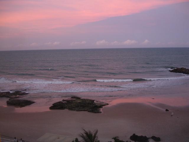 Entardecer na Praia de Areia Preta, Natal, RN, Brasil