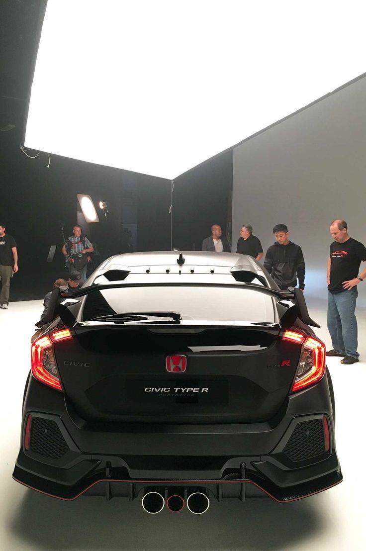 Honda civic type r rear bumper