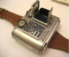 Retro spy cam watch