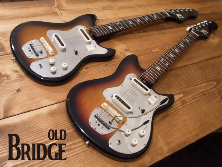 17 Best Images About Guitars Guyatone V8 On Pinterest