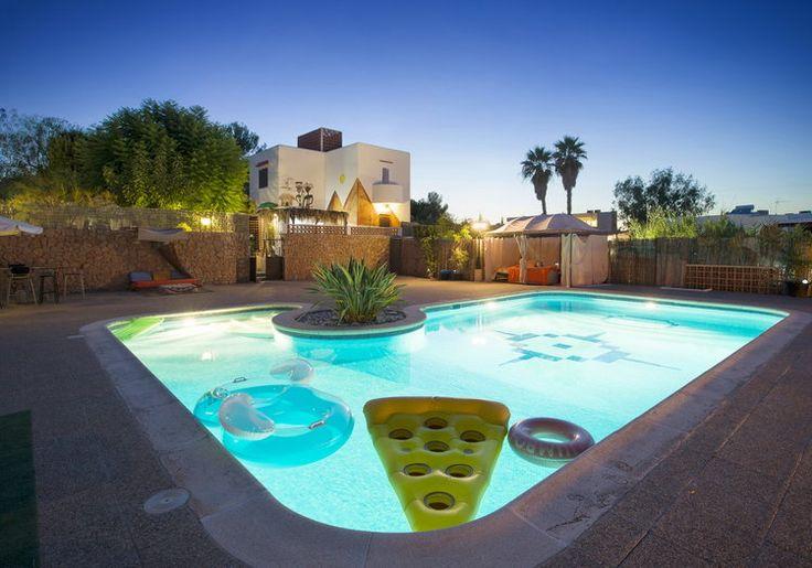IBIZA HOLIDAY HOME - Villa Aqua ... stunning pool area at night