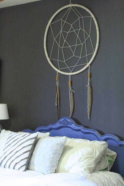 Primitive & Proper: DIY Hula Hoop Dream Catcher