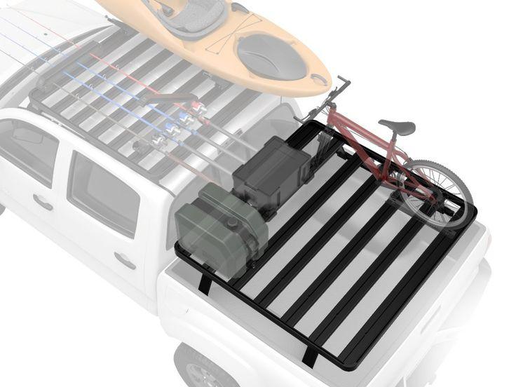 Toyota Tacoma Pick-Up Truck Cargo Bed Rack Kit (  2005+/ OEM Bed Rail Kit ) Front Runner Slimline II