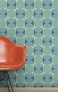 The Mod Generation Wallpapers - Our Modernism collection spans several widely-varying design esthetics: the shimmering light and elegance of the Art Deco period, the cozy home-style charm of the '40s Post-War Era, the fun futuristic world of the '50s Atomic Age and the bold and stylistic '60s Mod Generation.
