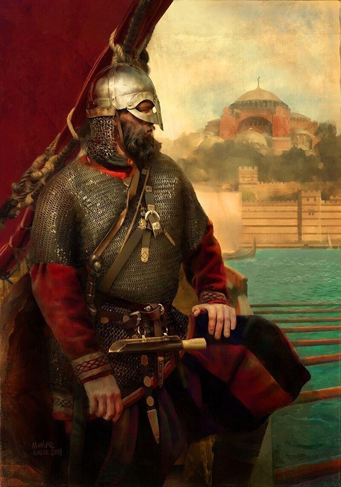Pin By Rdraeshevin On Armor Concepts Ideas In 2020 Varangian Guard Vikings Viking Armor