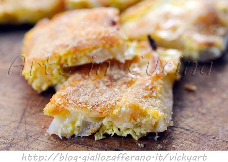 Frittata di finocchi al forno, ricetta facile, secondo o contorno sfizioso, ricetta con verdure, ricetta light, facile da preparare, finocchi al forno, uova, cipolla