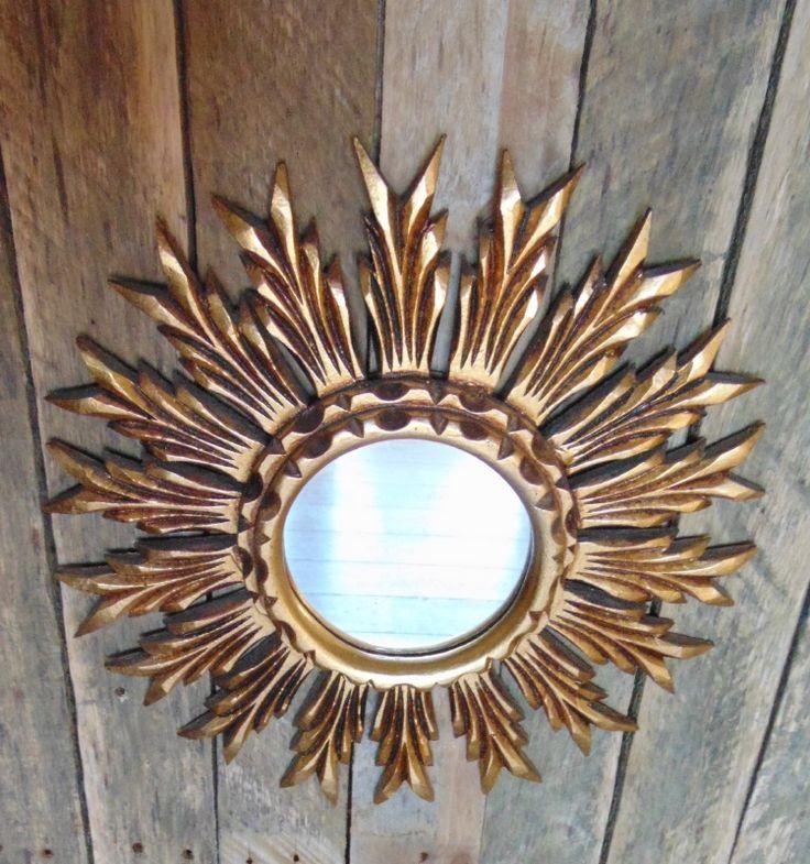 zonnespiegel, hout   decoratie   De Mansarde
