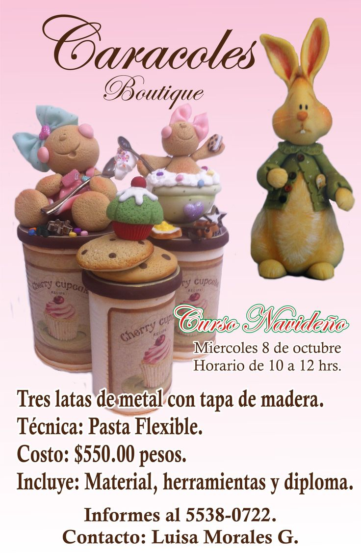 Caracoles & Pin*GusSigue el tablero Pasta Flexible Invita de Liliana Andrade en Pinterest.