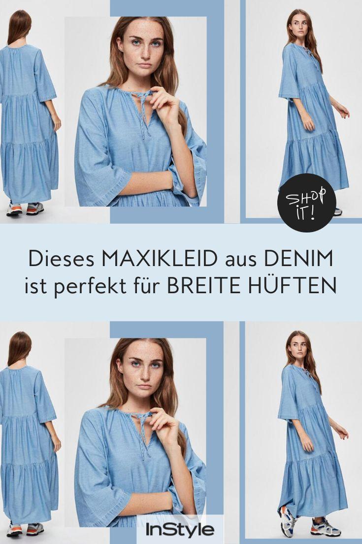 Kleider-Trend: Dieses Maxikleid kaschiert breite Hüften ...
