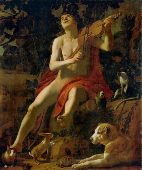 Orpheus c.  1614-16 Gerrit van Honthorst