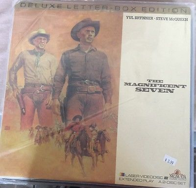 Laserdisc Western Lot Magnificent Seven Quick & The Dead Rustlers Rhapsody More