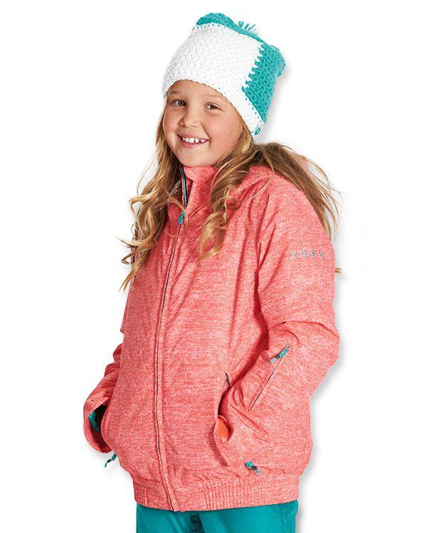 Roxy skijakke fra barnogleker.no #skijakke #barneklær #nettbutikk #norge #kidswear #norway