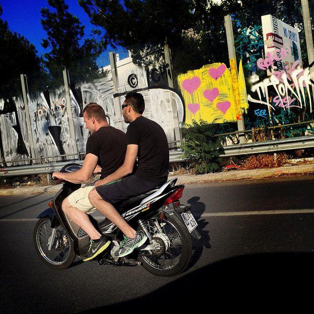 #motorbike #street #graffiti #iPhone   by Tryfon Tobias Pliatsikouris