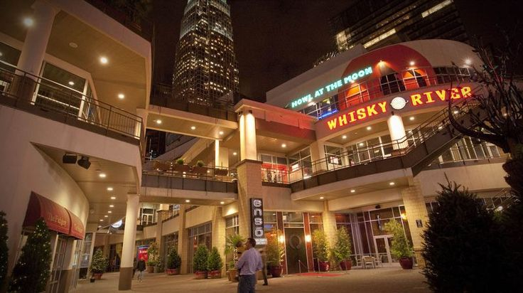 When the sun goes down, the fun is just beginning. Whether you're in Wilmington, Raleigh, Charlotte, Asheville or another city, North Carolina has nightlife options to suit your taste. The EpiCentre in Charlotte features restaurants, nightlife, a movie theater and bowling alley.
