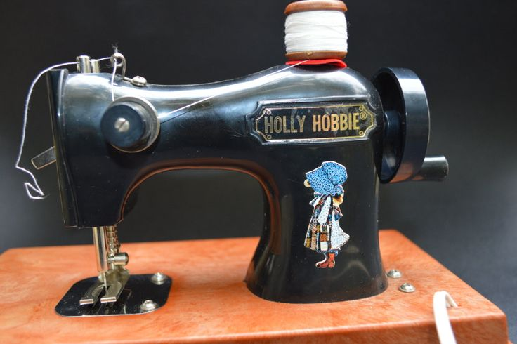 Vintage Toy Holly Hobbie Sewing Machine 1975 by Retrorrific on Etsy