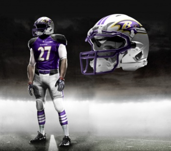 New NFL uniforms coming soon! These look cool. Nike is taking over.