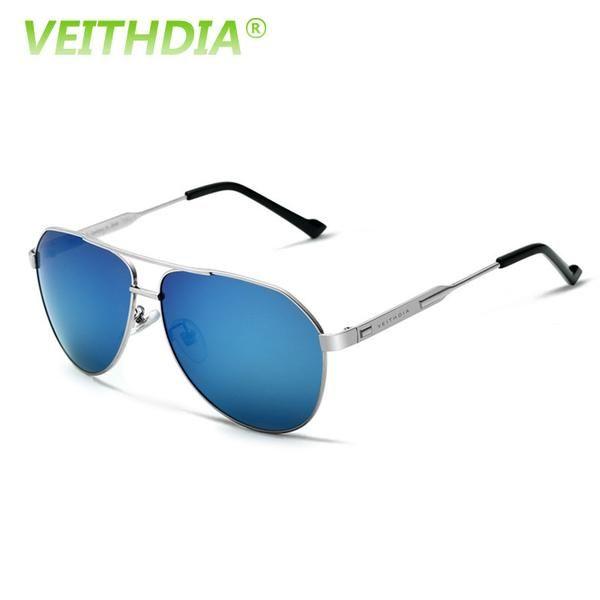 FuzWeb:VEITHDIA Best Men's Sunglasses Polarized Mirror Lens Big Oversize Driving Eyewear Accessories For Men 3562