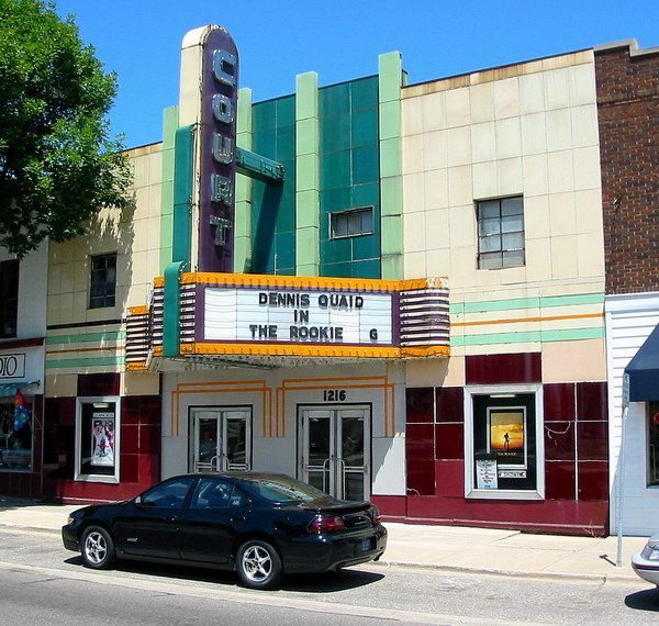 Court Street Theatre - Saginaw MI- my neighborhood theater