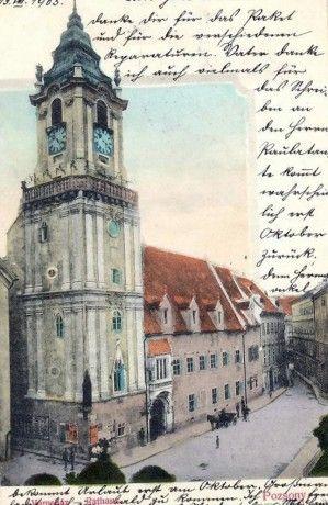 Bratislava historická