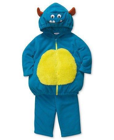 Carter's Baby Boys Monster Hooded Bubble Halloween Costume