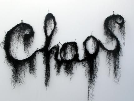 Annette Messager    Chaos, 2008