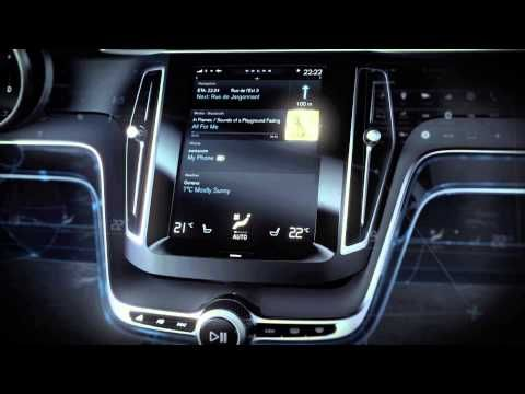 ▶ Volvo Concept Estate - User Interface - YouTube