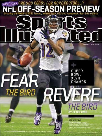 Jacoby Jones - SI cover