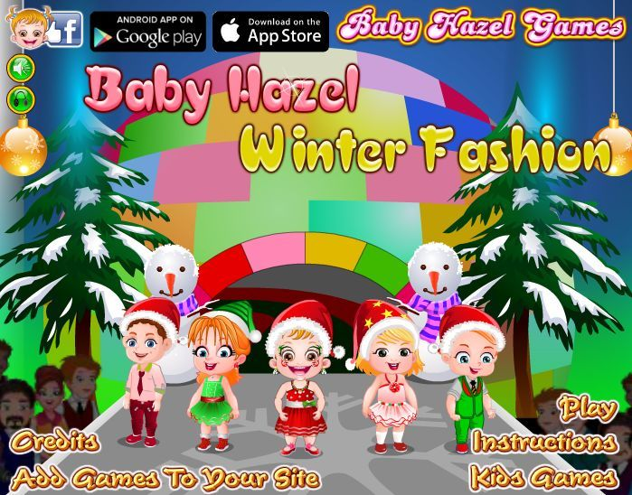 How about watching Baby Hazel walking the ramp? Play the game to see how Hazel walks the ramp confidently at her preschool Winter Fashion show. http://www.babyhazelgames.com/games/baby-hazel-winter-fashion.html