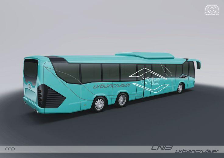 Different Renders Of Bus Design Bus Retro Bus Concept Car Design