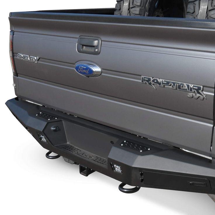 2010 - 2014 Ford Raptor HoneyBadger Rear Bumper by Addictive Desert Designs