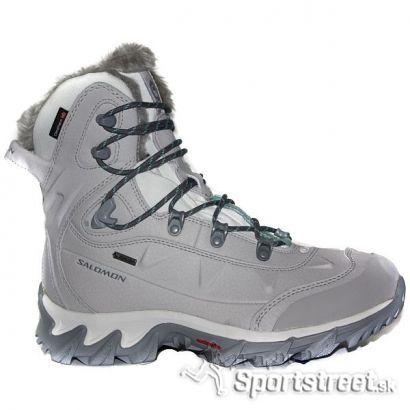 Salomon NYTRO GTX W WHITE dámska zimná obuv