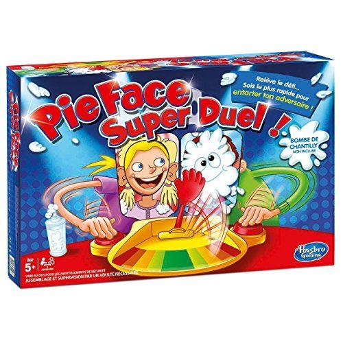 Hasbro – C01931010 – Jeu d'Ambiance – Pie Face Super Duel – Le Jeu de la Chantilly: Pie Face est de retour et on peut jouer à 2 en même…
