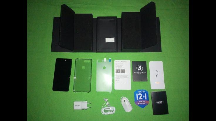 Phantom 8 Tecno Mobile Unboxing