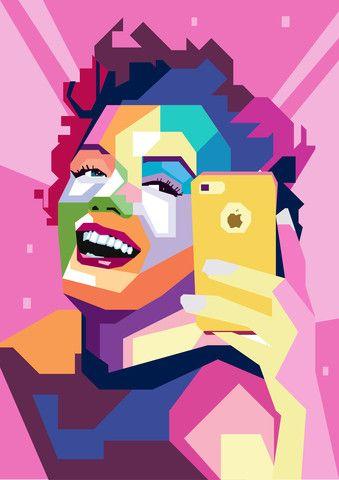 Vi Hyller: Monroe Selfie