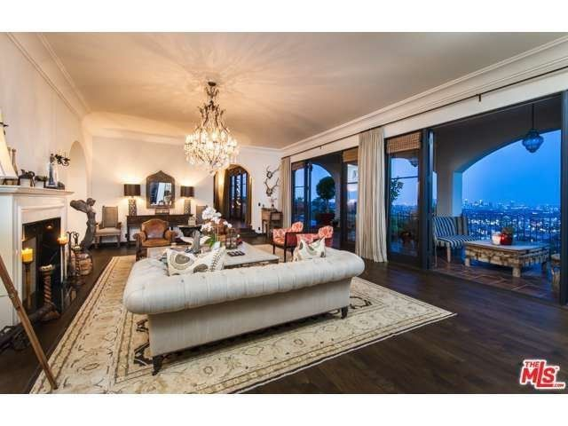 Pin for Later: Peek Inside Megan Fox and Brian Austin Green's Love Lair  Another view of the living room. Source: Coldwell Banker