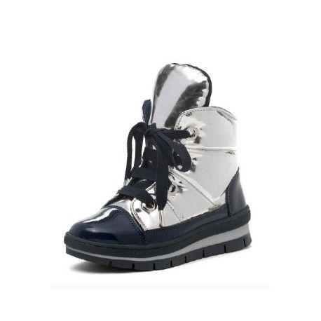 ботинки серебристые зимние Jog Dog