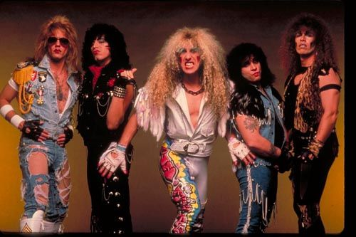I Wanna Rock & We're Not Gonna Take It were always my favorite Twisted Sister songs and still are!