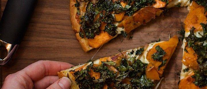 Sweet Potato Kale Pizza & Something More - Our Fresh Kitchen