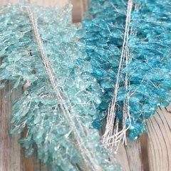 Акриловые Кристалл Garland кристалл синий ручной необходимые пять юаней может быть любой формы