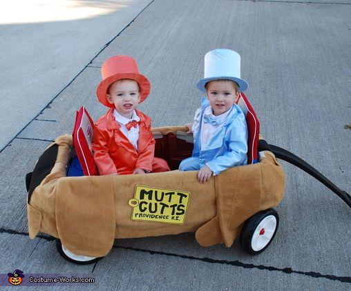 lloyd and harry from dumb dumber baby halloween costume idea - Toddler And Baby Halloween Costume Ideas