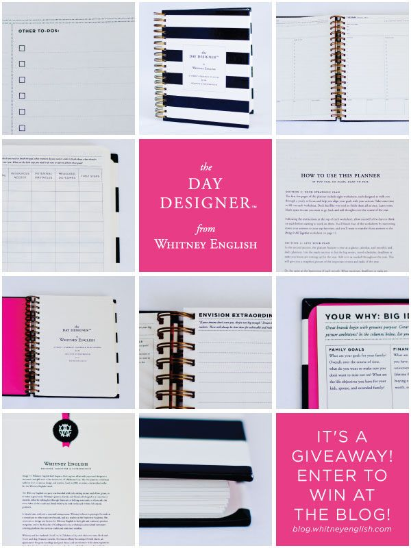 I want to win this adorable planner!  http://blog.whitneyenglish.com/a-day-designer-giveaway/