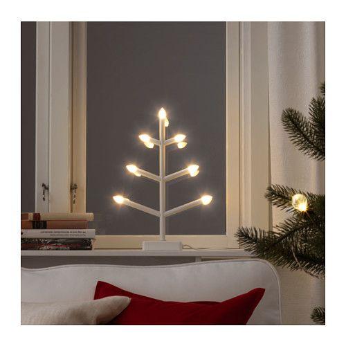 STRÅLA LED candelabra, tree-shaped tree-shaped -