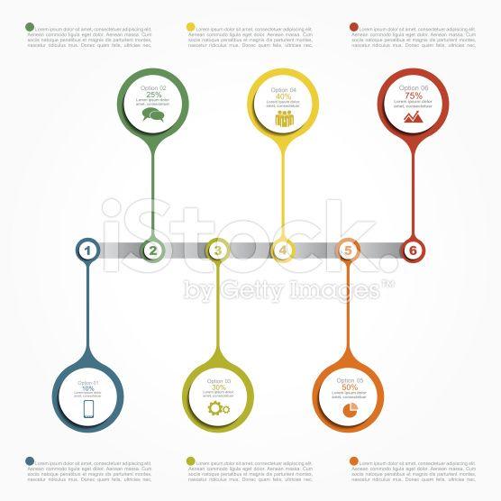 インフォグラフィック報告書テンプレート。ベクトルイラストレーション ロイヤリティフリーストックのベクターアート