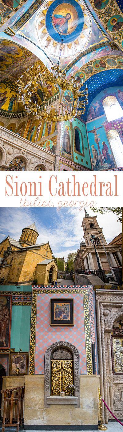 Sioni Cathedral, Tbilisi Georgia- such a beautiful church!