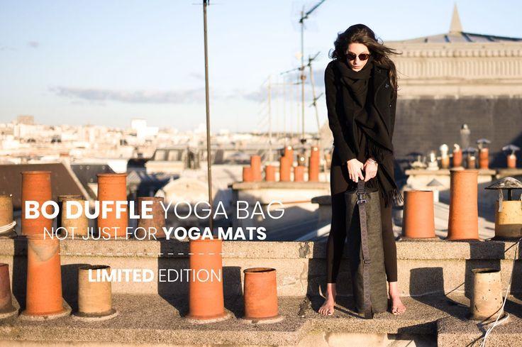 On the rooftops of Paris... Sur le toits de Paris...  Discover the Bo Duffle Bag on our e-shop latyworld.com  Découvrez le sac Bo Duffle sur notre boutique en ligne latyworld.com   #yogaparis #yogabag #madeinparis #paris🇫🇷  #photooftheday #yogamatbag #notjustforyogamats #laty #limitededition #madeinparis #yogagirl #yogalifestyle #yogaeverywhere #yogaeverydamnday #yogastyle #yogalooksgood #parisfashion #parisienne #fashion #yogawear #denimbag